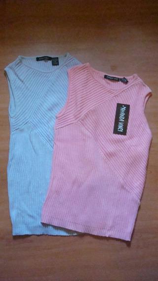 Remeras / Sweater Musculosa De Amanda Vinci Importadas Mujer