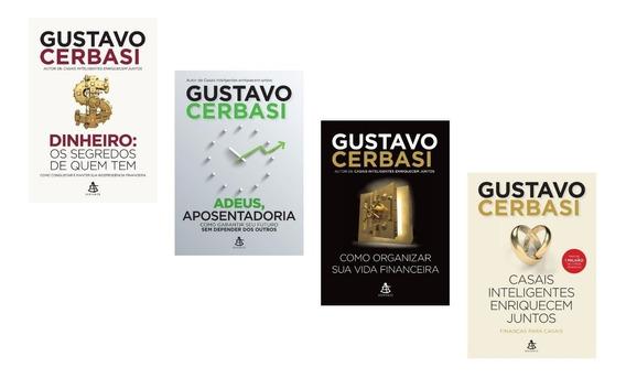 Kit 4 Livros Finanças Pessoais - Gustavo Cerbasi #