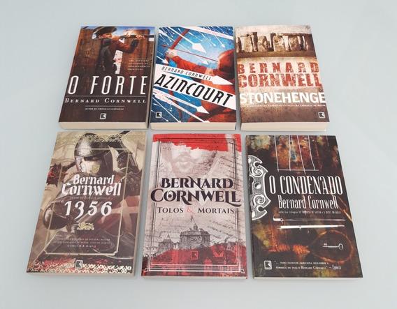 Kit 6 Livros Bernard Cornwell Autor De Cronicas Saxônicas