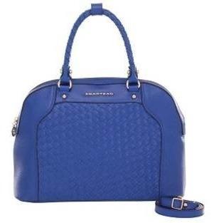 Bolsa Smartbag Couro Trançado Royal