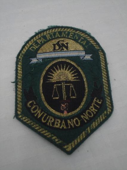 Escudo Decada 90 Policia Conurbano Norte