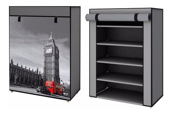 Zapatera De 5 Repisas Londres Big Ben Original D-mark