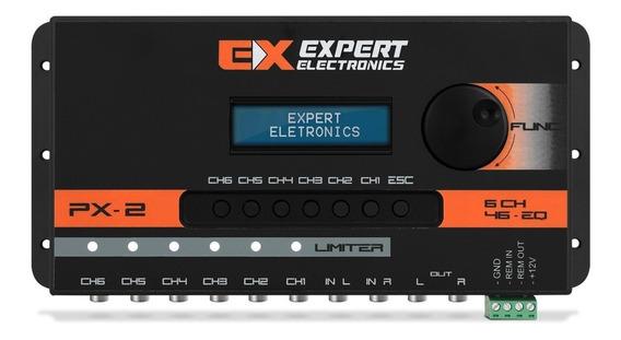 Novo Crossover Expert Px2 Processador Digital 6 Canais