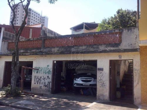 Terreno  Residencial À Venda, Vila Curuçá, Santo André. - Te0441