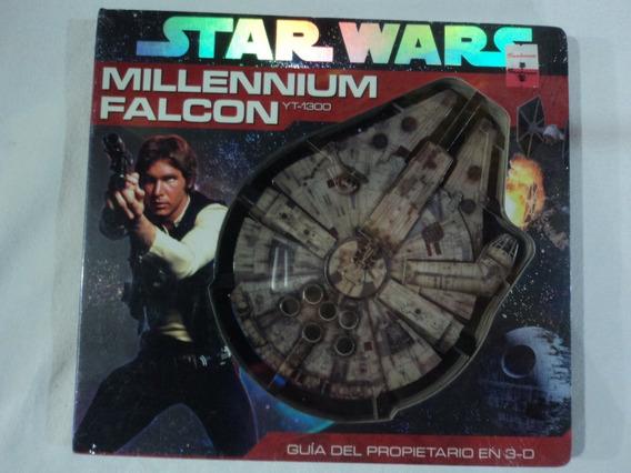 Star Wars Libro Millennium Falcon Guía Propietario 3d 2011