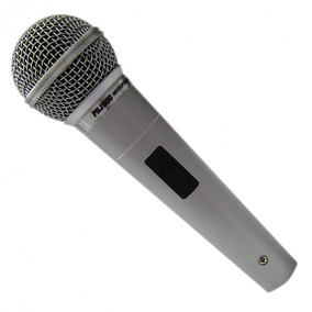 Paulispar Microfone Prof. Psj-600 Prata 600-ohmz Cardioide