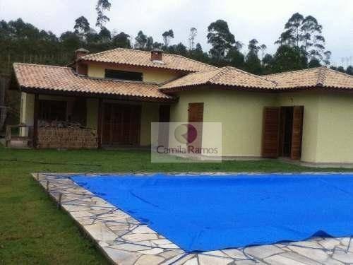 Chácara Residencial À Venda, Clube Dos Oficiais, Suzano. - Ch0024