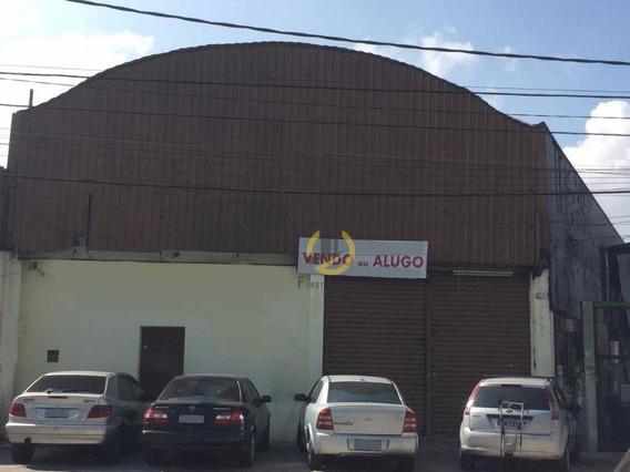Galpão, 360 M² - Venda Por R$ 1.100.000,00 Ou Aluguel Por R$ 7.000,00/mês - Vila Moraes - São Paulo/sp - Ga0007