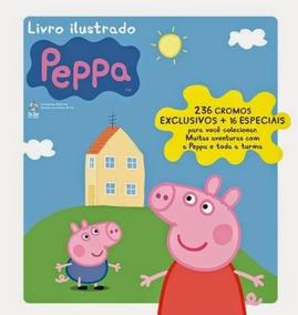 2014 Álbum De Figurinhas Peppa Editora On Line Completo