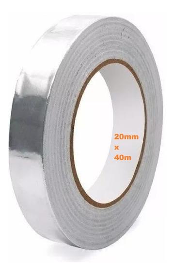 Fita Adesiva De Aluminio Refletiva Retrabalho Bga 20mm X 40m