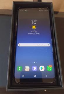 Samsung Galaxy S8+ 64gb Negro 4gb Ram Como Nuevo 10/10