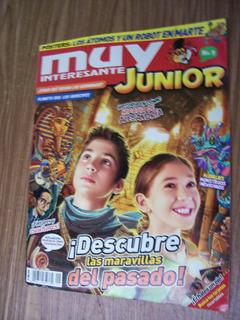 Junior Muy Interesante-$80 Cada Revista-años 2019 Y 2013