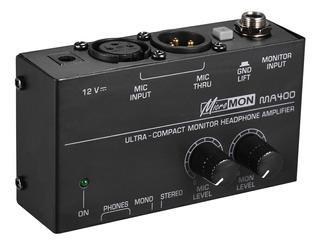 Amplificador De Auriculares Para Monitor Ultracompacto Con X