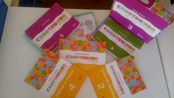 Kit Construindo Na Educação Infantil 3 Edição Renovada