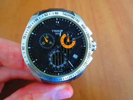Relógio Tissot Veloci-t Chronograph Quartz Steel (original)