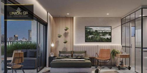 Studio Com 1 Dormitório À Venda, 27 M² Por R$ 365.844,00 - Vila Clementino - São Paulo/sp - St0768