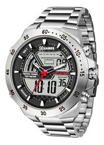 Relógio Xgames Masculino Anadigi Xmssa005 Bxsx Aço Oferta
