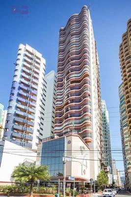 Apartamento Residencial Para Locação, No Vinã Del Mar, Centro, Balneário Camboriú. - Ap0705