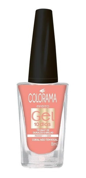 Esmalte Colorama Gel Coral Não Tem Igual