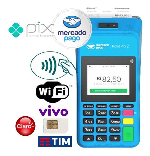 Imagem 1 de 9 de Máquina Point Pro - Maquininha De Passar Cartão Mercado Pago