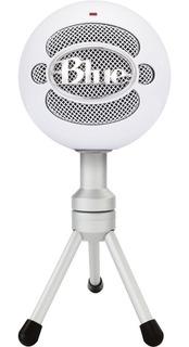 Microfono Blue Snowball Ice Usb Streaming Doble Condensador