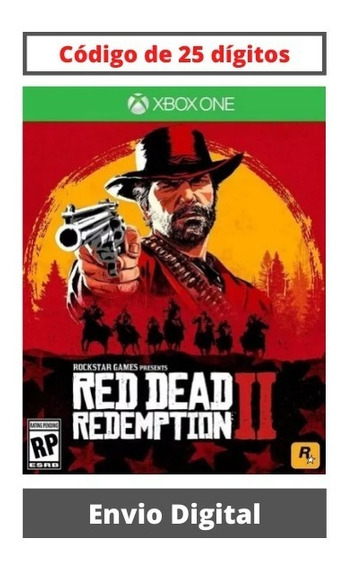 Red Dead Redemption 2 Xbox One 25 Dígitos