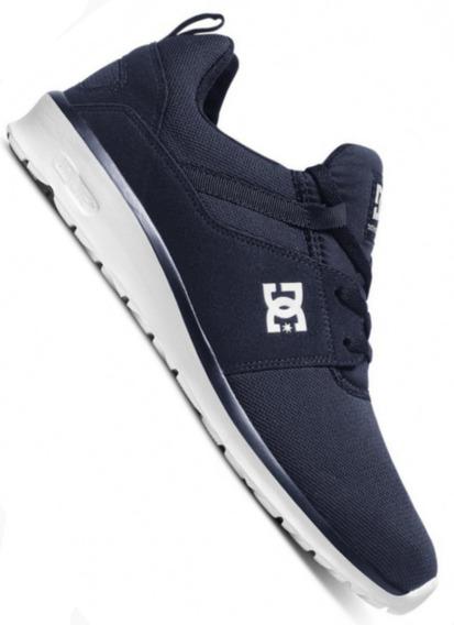 Zapatillas Dc Heathrow (nvy) Azul Skate Hombre