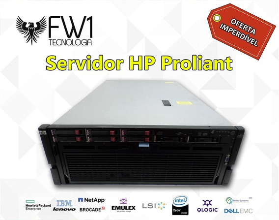 Servidor Hp Proliant Dl580 G7 4x Xeon X7560 128gb Ram 1.2tb