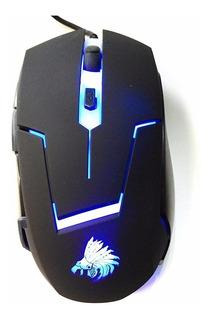 Mouse Raton Computadora Laptop Gamer Juegos Eagle Warrior