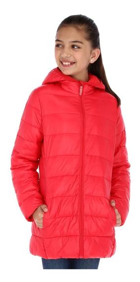Chamarra Para Niña Alysh Joy T56063 Color Rojo Xg