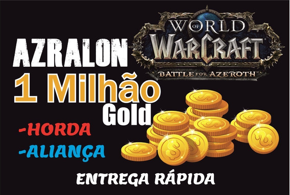 1m Gold Wow Azralon Ouro