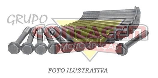 Parafuso Cabecote Kia Besta 2.7 Gs 3.0 Completo 18 Peças
