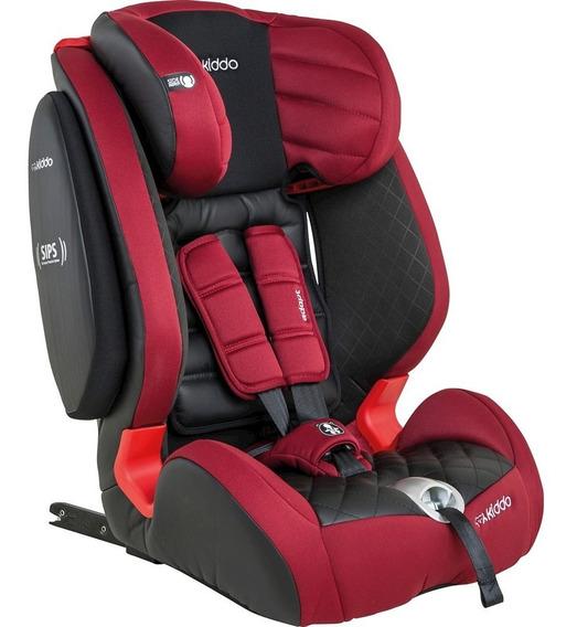 Cadeira Para Auto Kiddo Adapt - Preto/vermelho