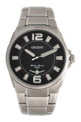 Relógio Orient Masculino Prata Mbss1334