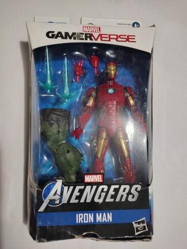 Imagen 1 de 5 de Iron Man Baf Abominacion Marvel Legends Gamerverse