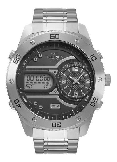 Relógio Technos Masculino Legacy Prata 2039cc/4p