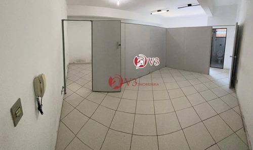 Sala Para Alugar, 50 M² Por R$ 1.200,00/mês - Vila Ré - São Paulo/sp - Sa0006