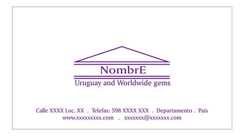 Tarjetas Personales Y Comerciales Inkjet