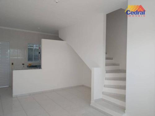 Sobrado À Venda, 54 M² Por R$ 175.000,00 - Vila São Paulo - Mogi Das Cruzes/sp - So0492