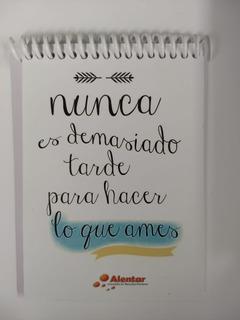 Libretas Con Frases En Mercado Libre Argentina