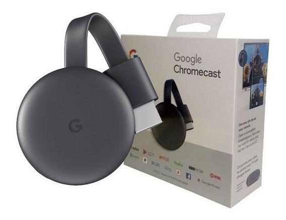 Google Chromecast 3 Geração - Envio Rápido
