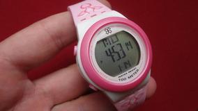 Relógio Feminino Branco, Rosa Xfppd026 X-games Original 100m