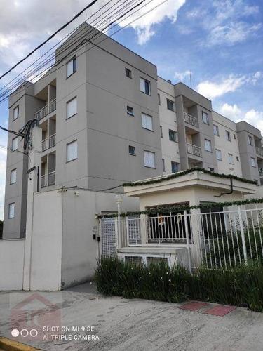 Apartamento Com 2 Dormitórios, 45 M² - Venda Por R$ 240.000,00 Ou Aluguel Por R$ 1.000,00/mês - Bairro Das Graças - Cotia/sp - Ap0511
