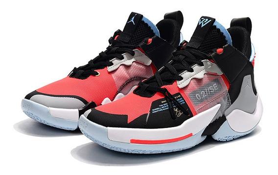 Tenis Nike Jordan Why Not Zer0.2 Se Red Orbit Originales Caj