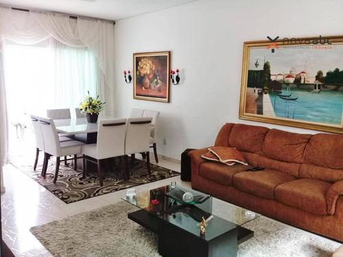 Sobrado Com 3 Dormitórios À Venda, 276 M² Por R$ 1.450.000,00 - Campestre - Santo André/sp - So0254