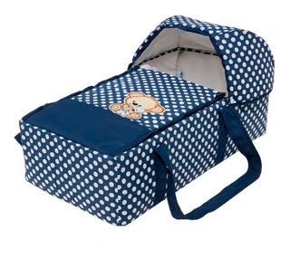 Bambineto Para Bebe Con Colchón Sabana Seguro Y Comodo Osito
