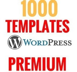 Promoção 1000 Templates Wordpress Premium Enviamos Agora