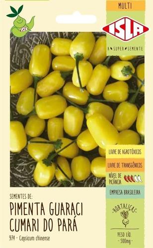 Imagem 1 de 3 de Sementes De  Pimenta Guaraci Cumari Do Para     140 Sementes