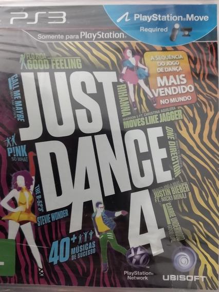 Jogo Just Dance 4 Versão Em Português Ps3 Lacrado