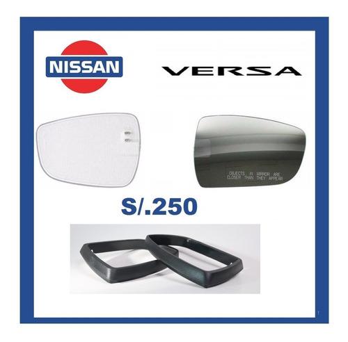 Espejos, Vidrios, Nissan Versa Originales+seguro+envío
